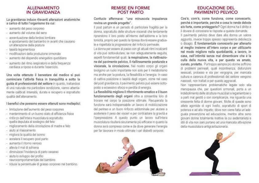 allenamento in gravidanza terni amelia